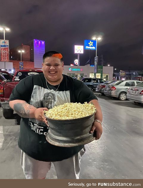 Fast and furious 9 pop corn combo