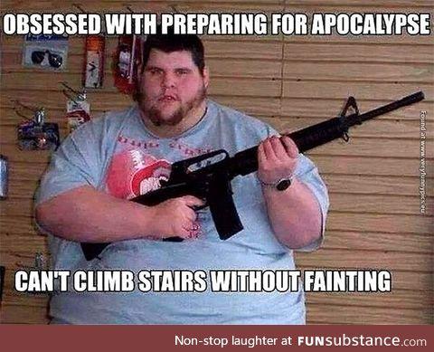 Zombieland Rule #1 applies
