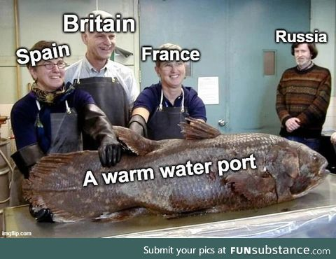 The Russians always felt like a fish out of water