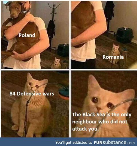 Eastern Europe`s history is depressing