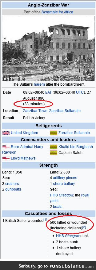 """""""The bri'ish cannot fight in a war"""""""