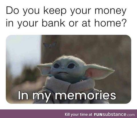 AH yes, broke