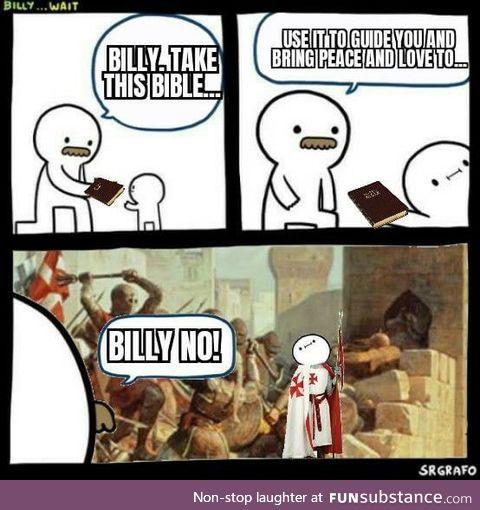 Damn it Billy