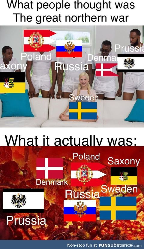 What really was the Great northern war