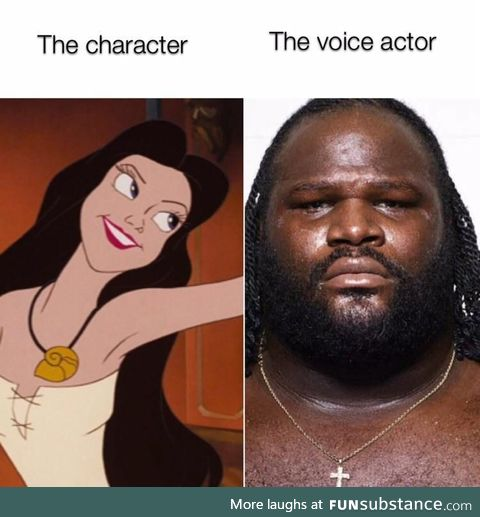 Voice actors are underrated