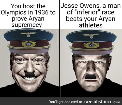 However, America did not appreciate what Jesse Owens achieved