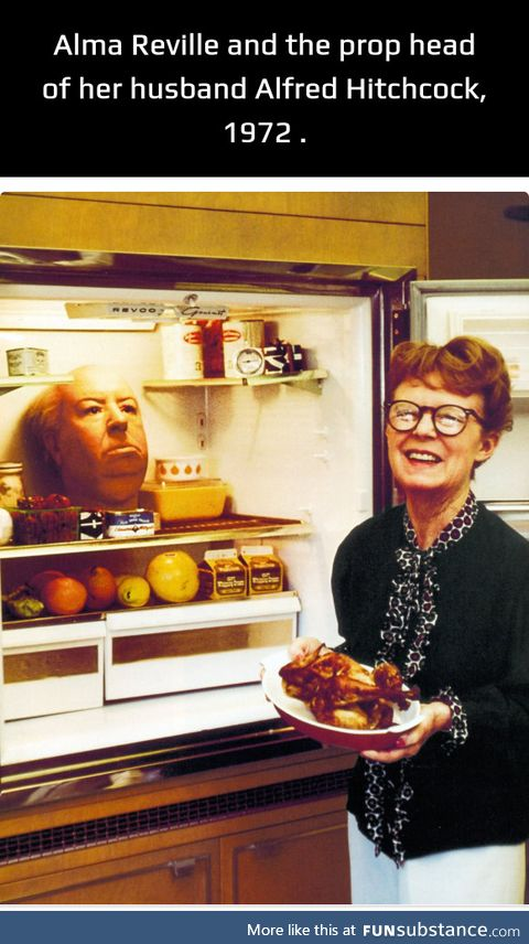 Gone, but not forgotten. He did love that refrigerator