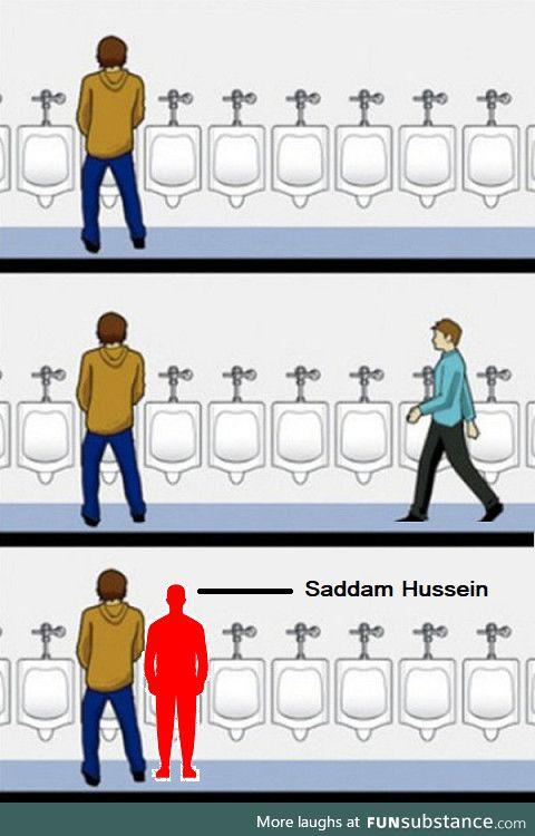 Urinal etiquette (OC)