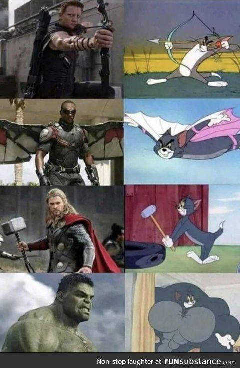 Tom - the last avenger