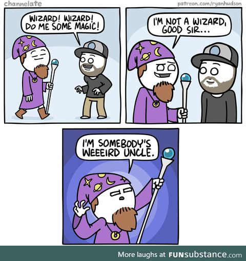Wizard?