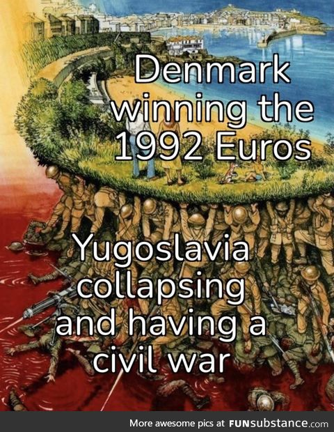 They only qualified because Yugoslavia pulled out