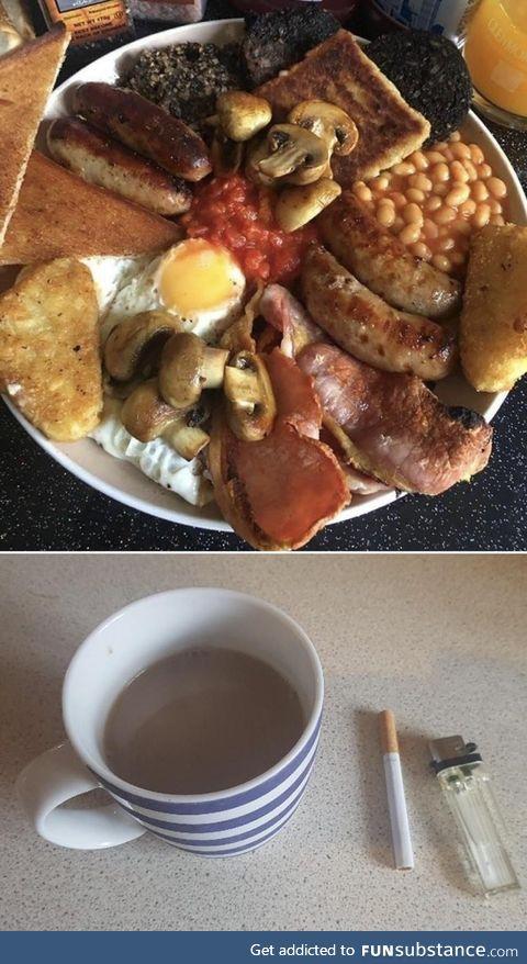 English or Italian breakfast?
