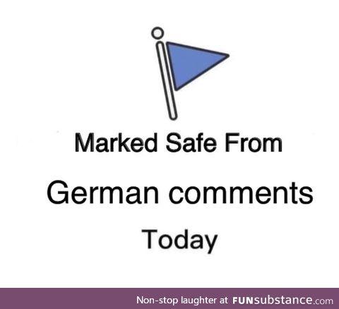 Finally, we're safe