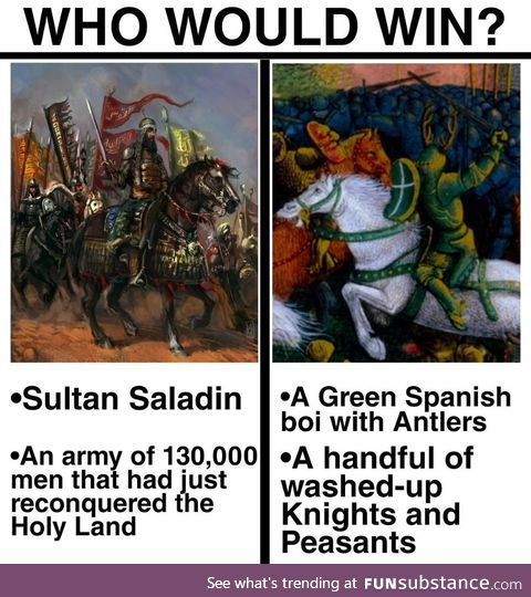 Sancho Martin is a possible source of inspiration for the 14th century arthurian Green
