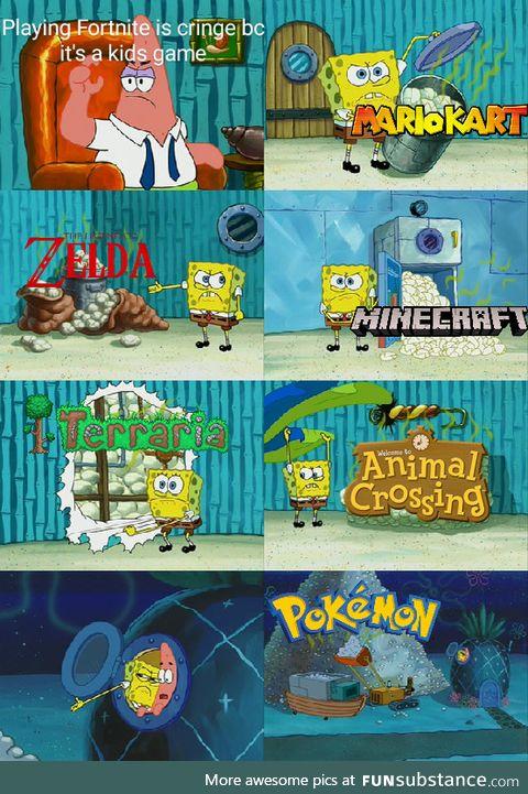Video games are fun