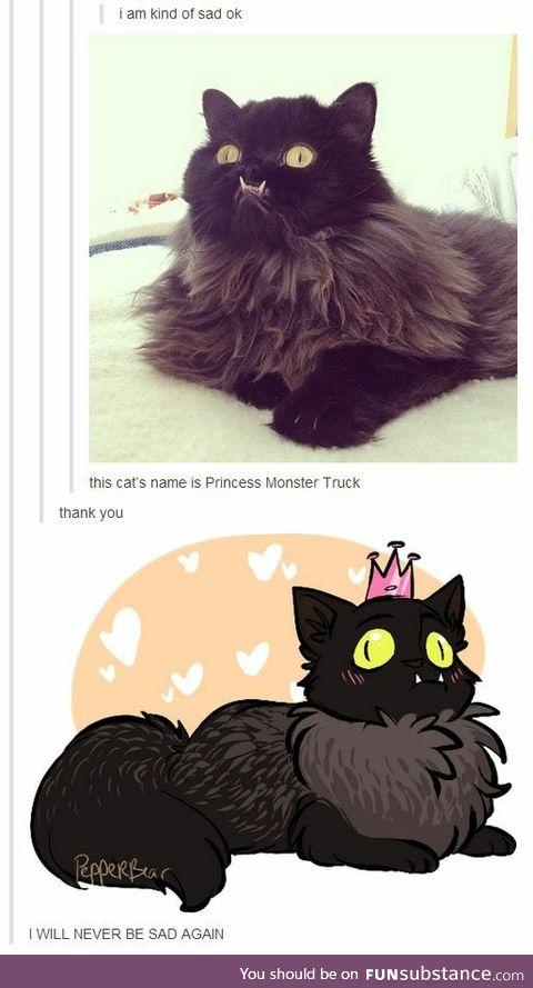 Princess Monster Truck