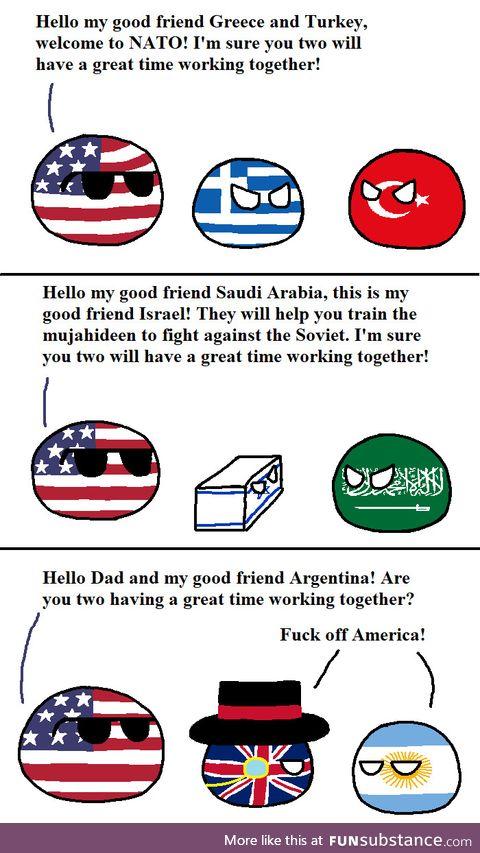 American allies