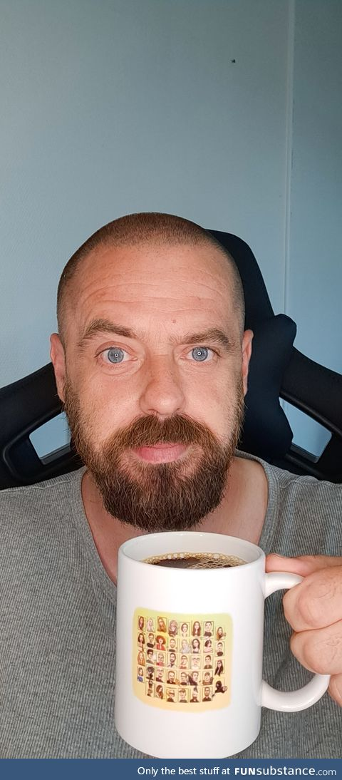 I can finally enjoy a cup of coffee with some of my favorite Funsubsters