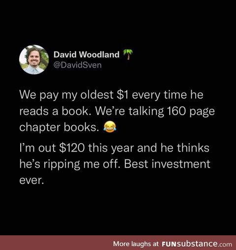 Scamming children into reading