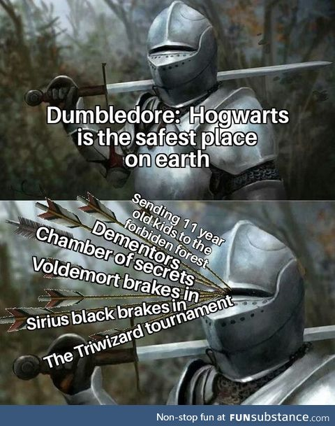 Hogwarts is the SAFEST place on earth