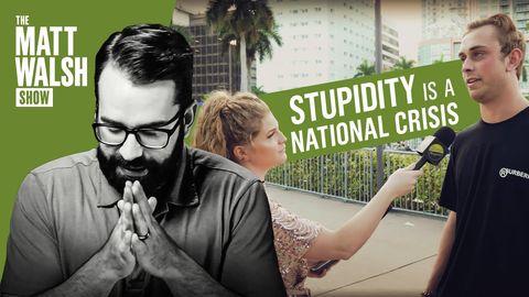 Stupidity is a National Crisis