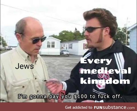 You *** with Jewish exile memes, right?