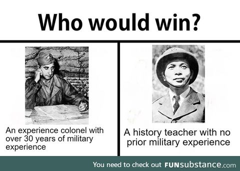 Never underestimated a history teacher, a lesson from the battle of Dien Bien Phu