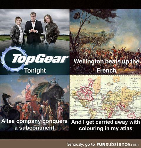 "Tonight on ""The British Empire"""