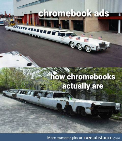 Chromebook ads are extremely misleading