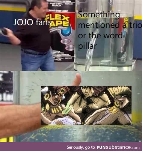 This is why love and hate Jojo fan base