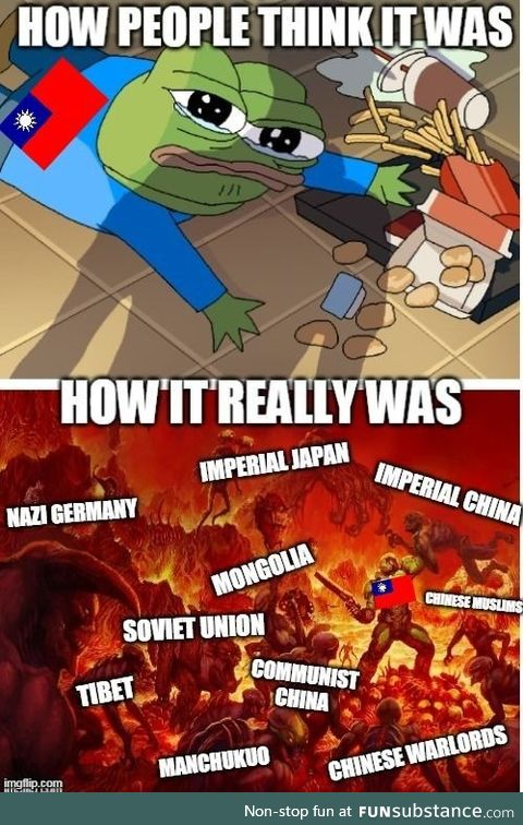 The Republic of China was hardcore as *** during the 20th century