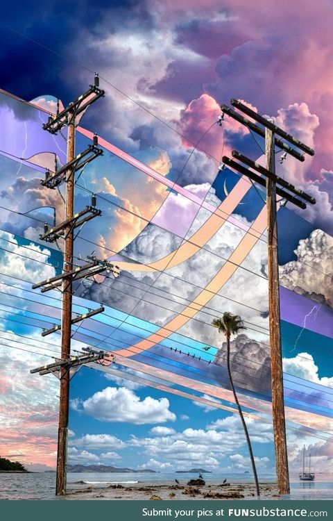 Party Skies by Alex Hyner