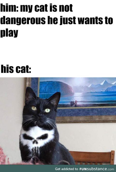 He just want to play