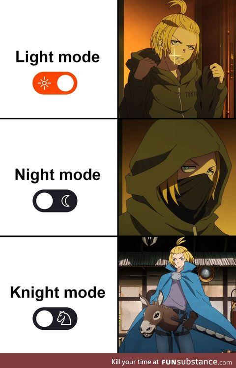 Arthur powers up