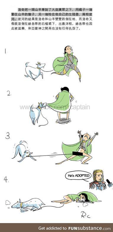 Loki vs Goatki