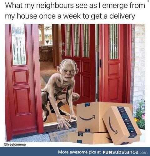 My precious package