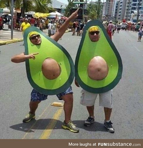 You have a motorbike, but d'you avocado?