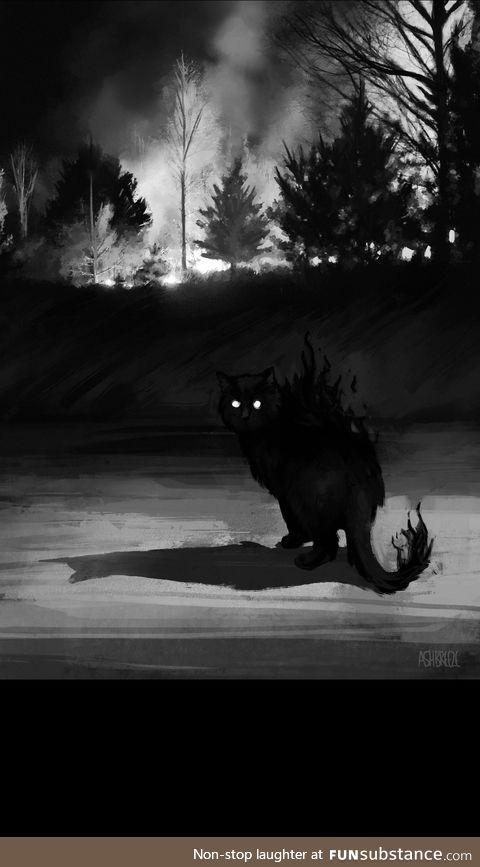 Spooktober cat