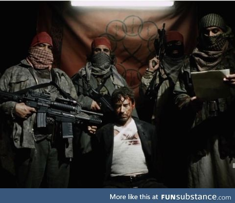 On May 5th, 2008, an American billionaire was kidnapped by the Taliban