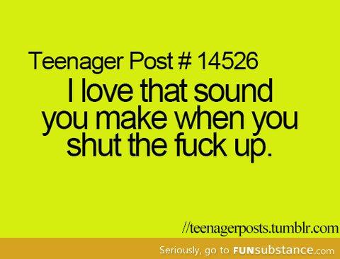 My favorite sound