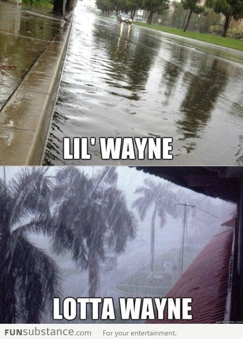 Lil Wayne and Lotta Wayne