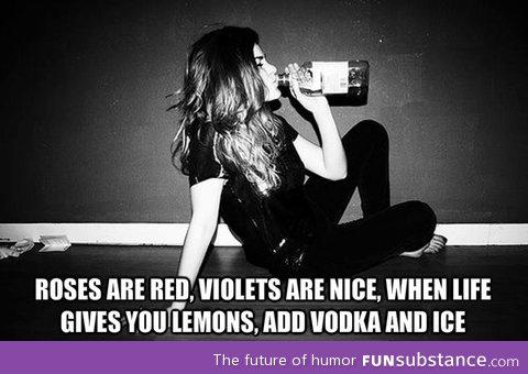 Roses and lemons