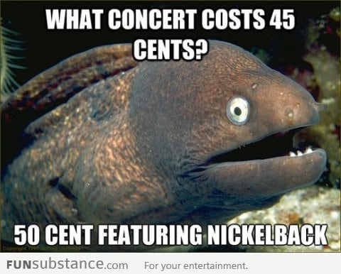 Forty-five cents concert