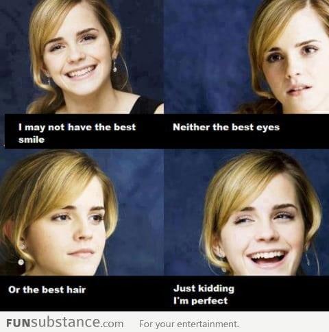 Humble Emma Watson