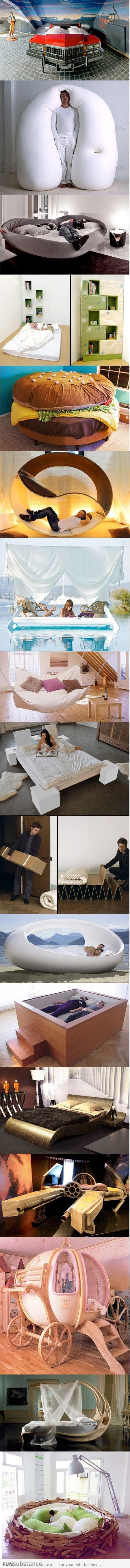 17 Creative Bed Designs