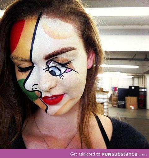 Picasso Halloween Makeup