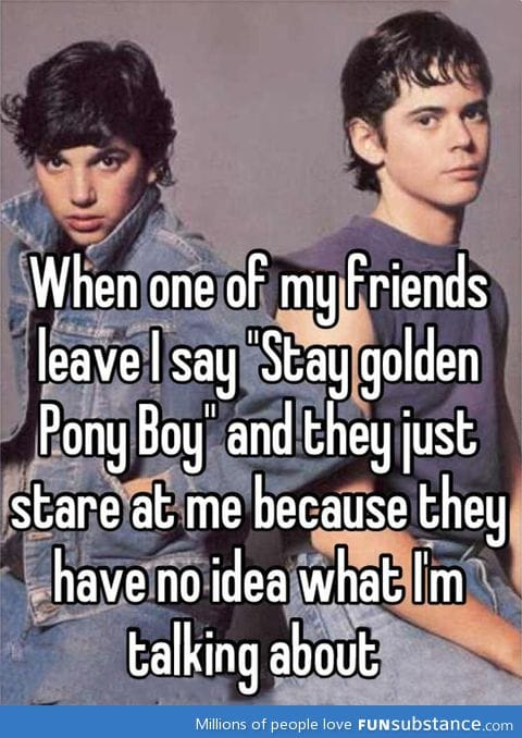 Stay Golden Pony Boy