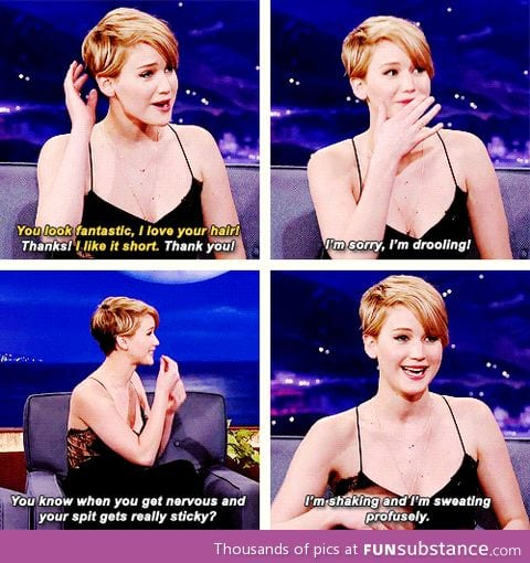 Beginning of Jen's interview with Conan